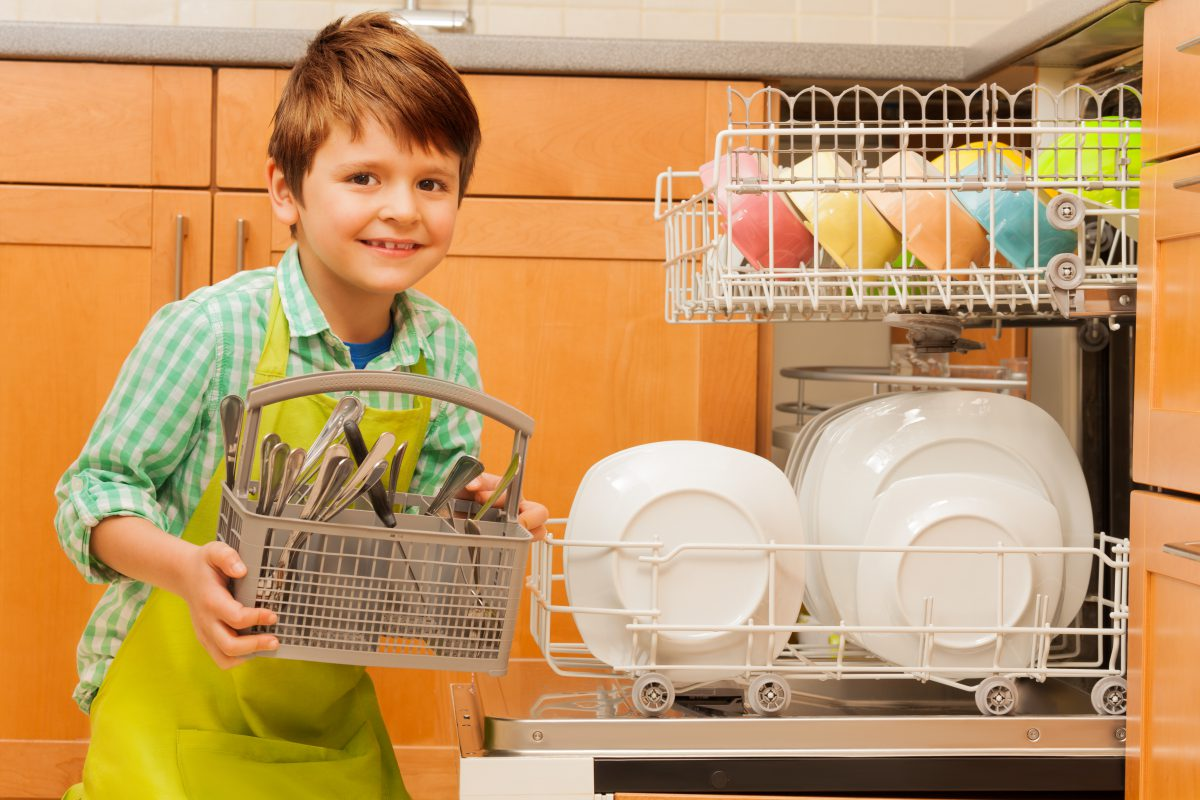 BOY DISHWASHER