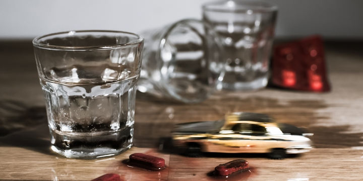 JAZDA PO ALKOHOLU