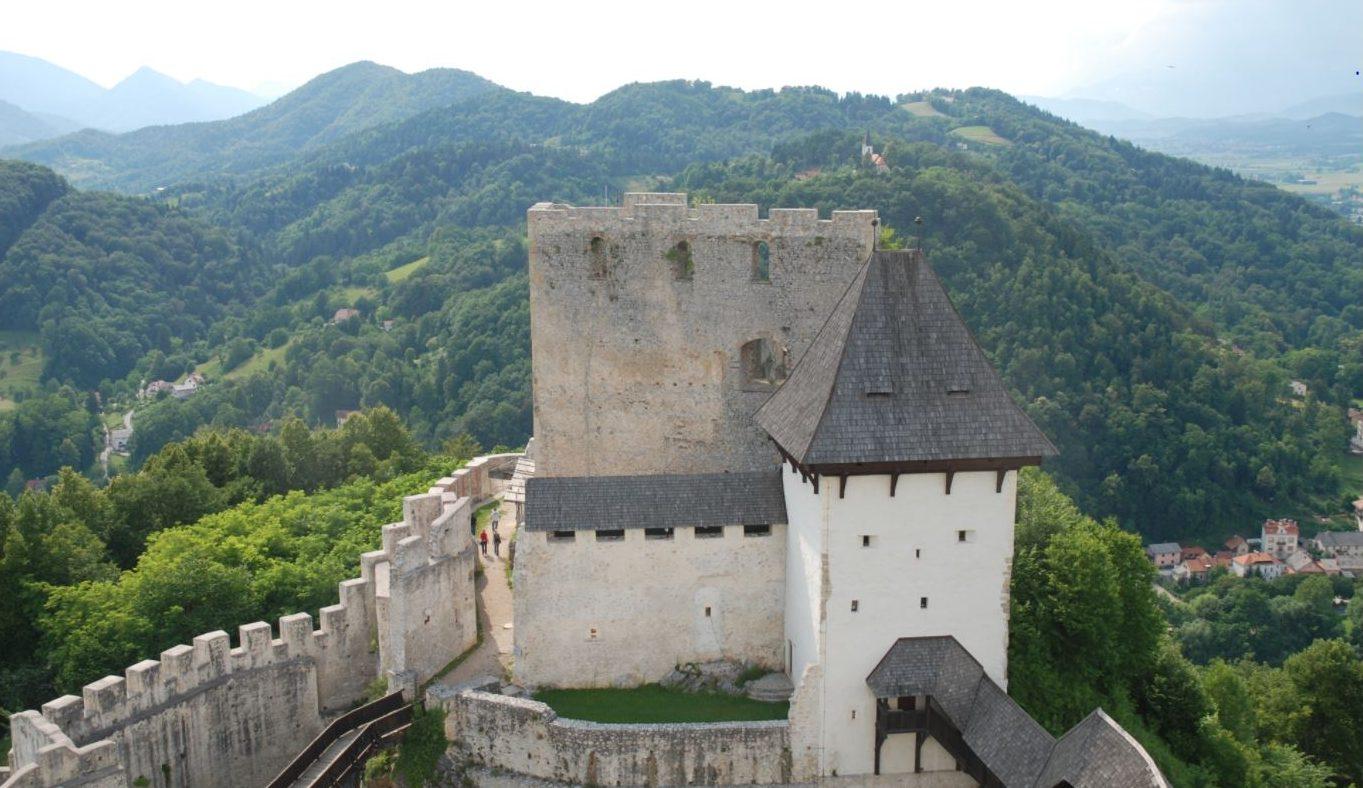 Castle in Celje Slovenia