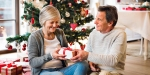 Elder Couple Christmas