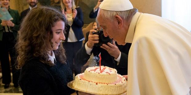 POPE FRANCIS,BIRTHDAY