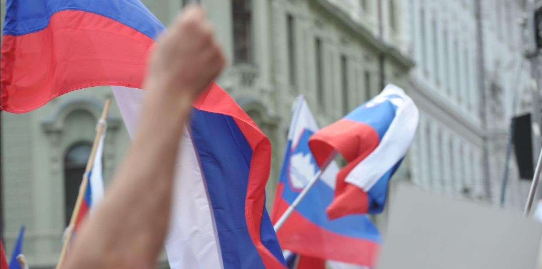 Slovenian flags
