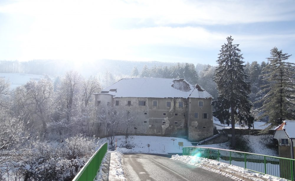 Castle in Trebnje where Friderik Baraga lived