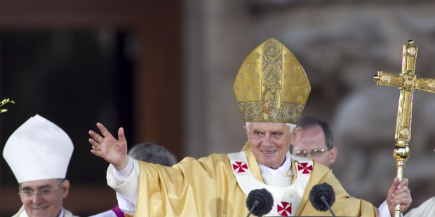 JOSEPH RATZINGER POPE BENEDICT XVI ©Maxisport _ Shutterstock.com-lpr