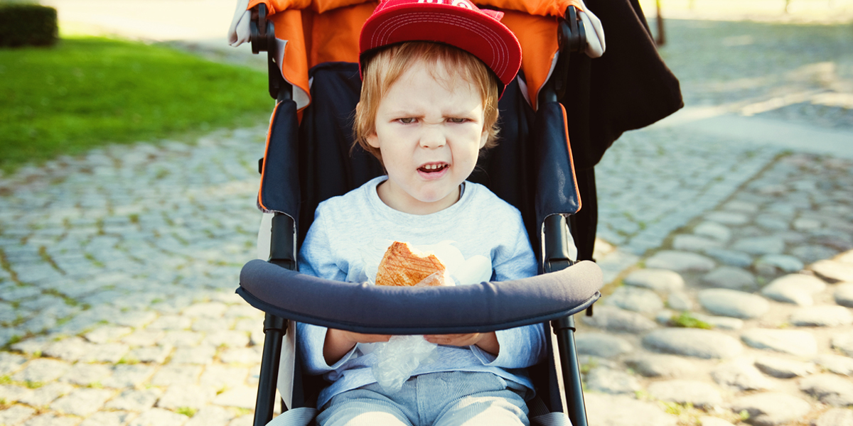 TODDLER,STROLLER,ANGRY,TANTRUM