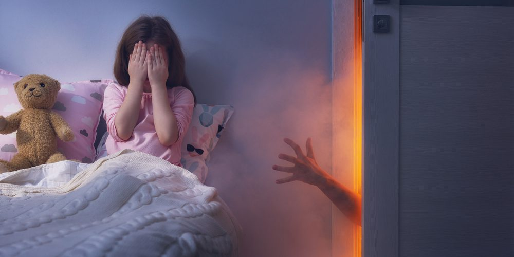 CHILD HAVING NIGHTMARE