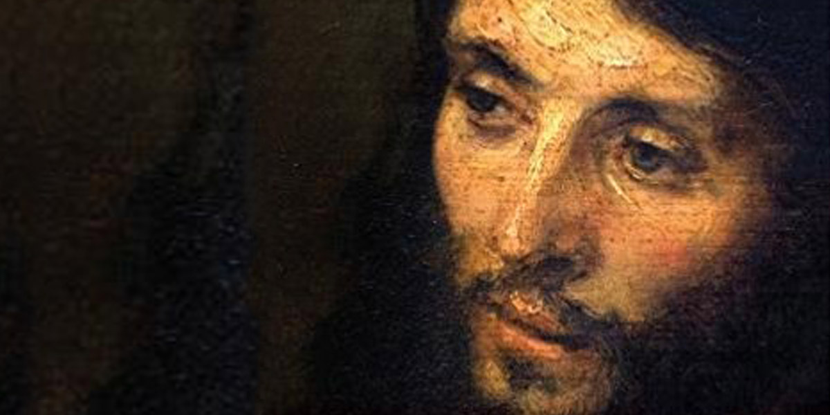 HEAD OF CHRIST,REMBRANDT