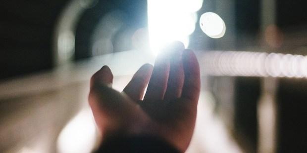HAND SEEKING LIGHT