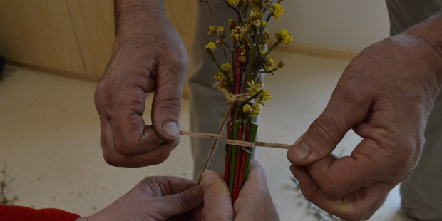 MAKING BUTARE FOR PALM SUNDAY