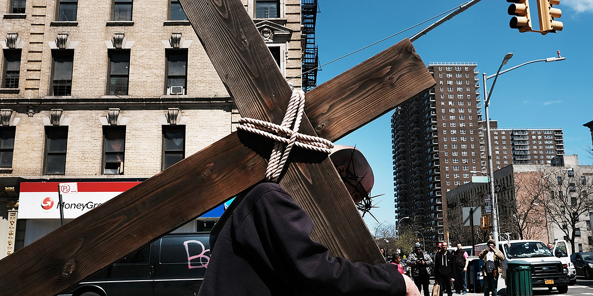 WAY OF THE CROSS,NEW YORK