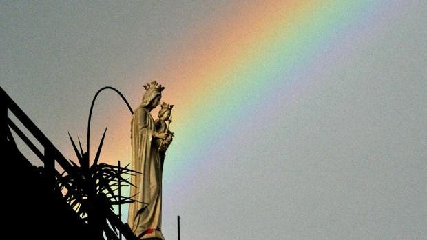 RAINBOW,VIRGIN MARY