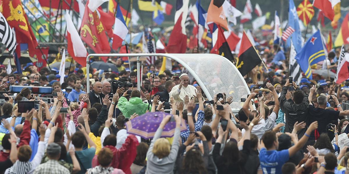 WEB3 - POPE FRANCIS WELCOMING CEREMONY JORDAN PARK BLONIA