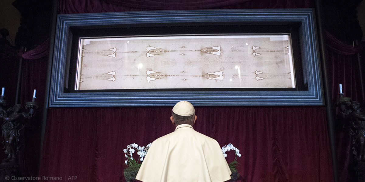 SHROUD OF TURIN,POPE FRANCIS