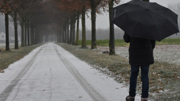 WALK IN A BAD WEATHER