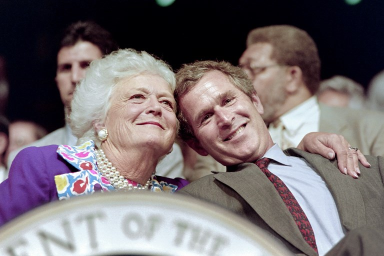 BARBARA BUSH,DEATH