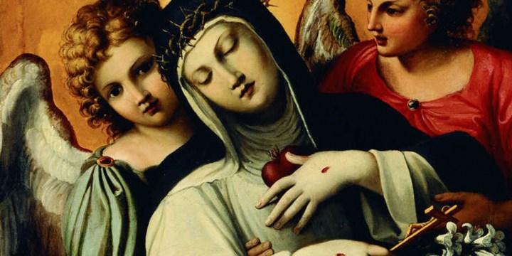 7 navdihujočih navedkov sv. Katarine Sienske o poti, ki vodi v nebesa