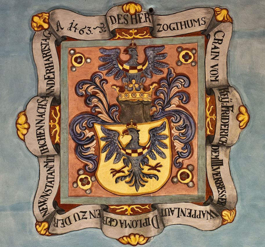 Coat of arms of Carniola in Ljubljana Castle Chapel