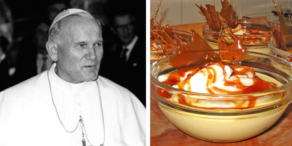 POPE AND ICE CREAM