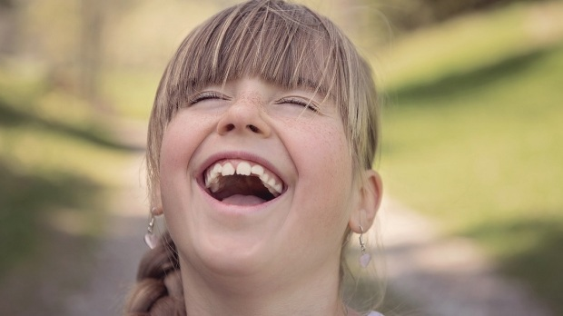 GIRL LAUGHING