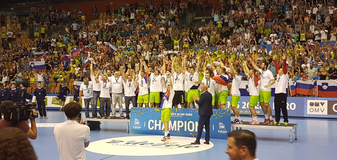 SLOVENIA JUNIOR HANDBALL TEAM