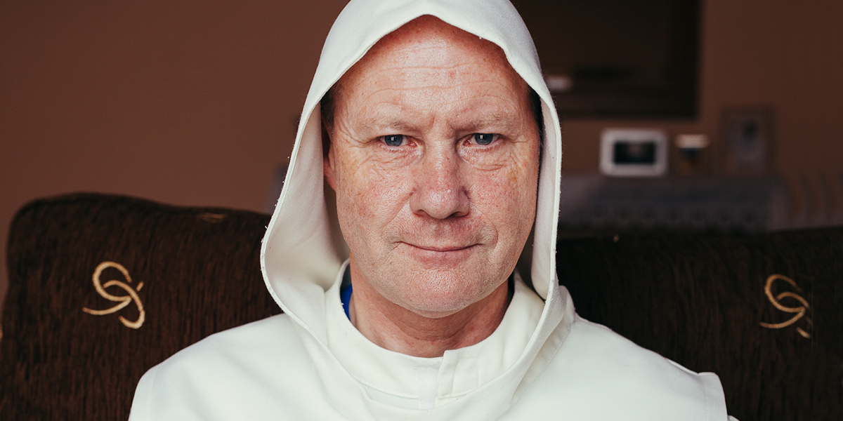 FATHER DAVID JONES,HERMIT,IRELAND