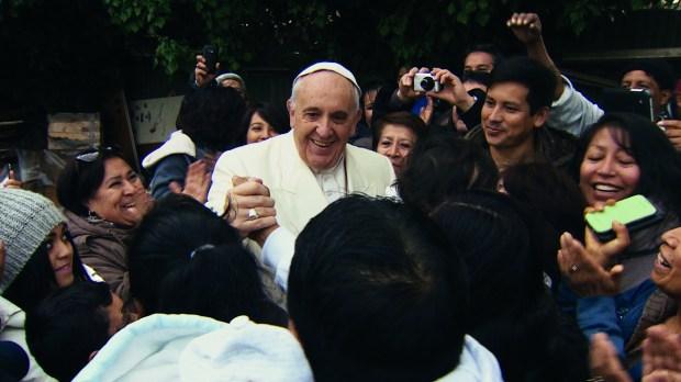 pope francis wim wenders