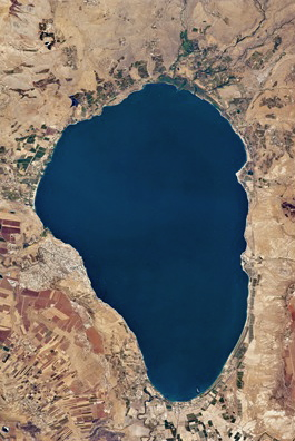 SEA OF GALILEE; HARP