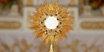 MONSTRANCE,GOLD,EUCHARIST