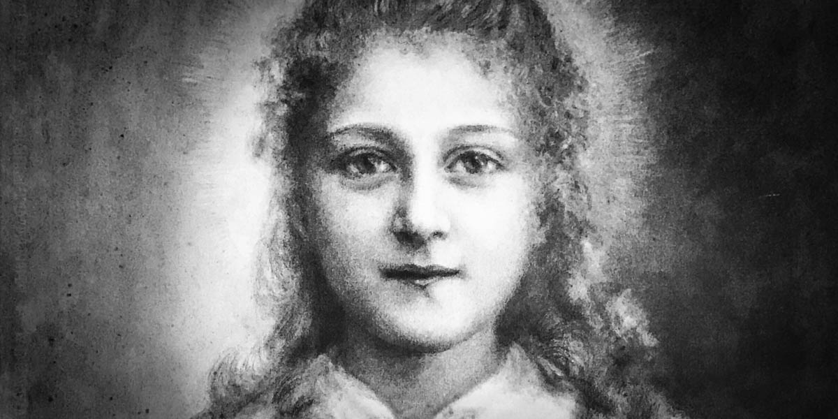 SAINT THERESE AS A CHILD