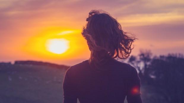SUNSET WOMAN