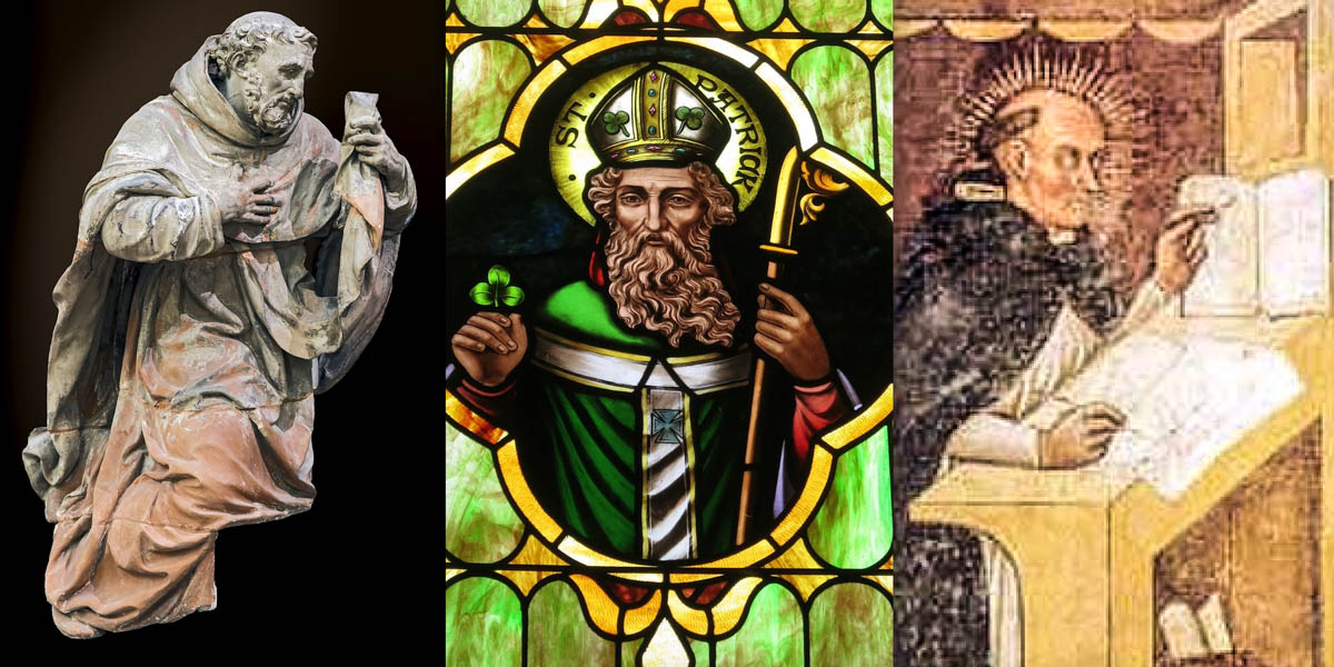 SAINT PATRICK, ST RAYMOND OF PENYAFORT, ST SIMON STOCK
