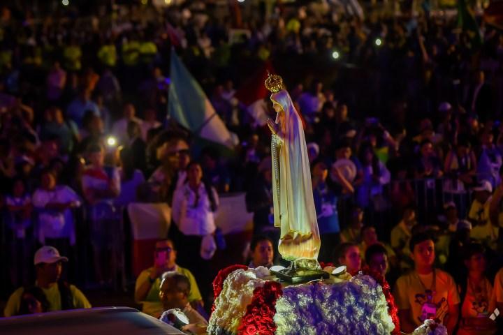 CZUWANIE Z PAPIEŻEM FRANCISZKIEM, PANAMA