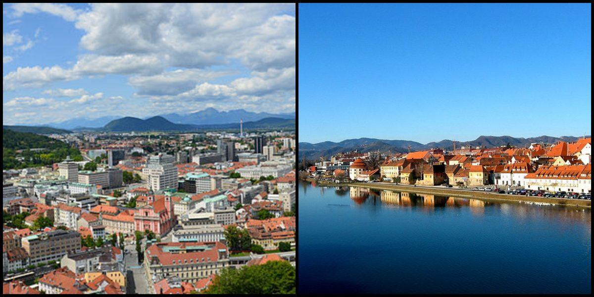 Ljubljana in Maribor