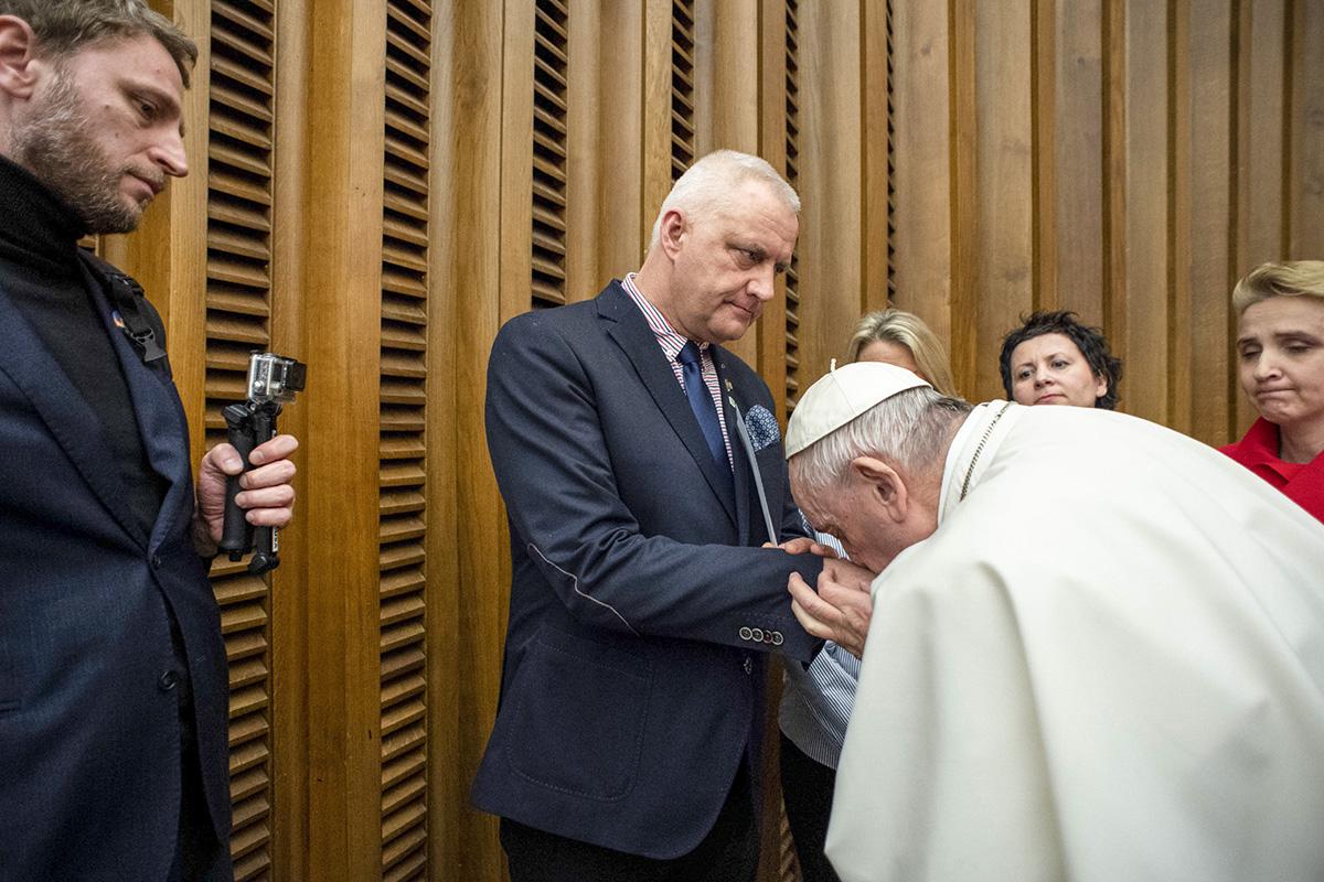 POPE FRANCIS Marek Lisinski