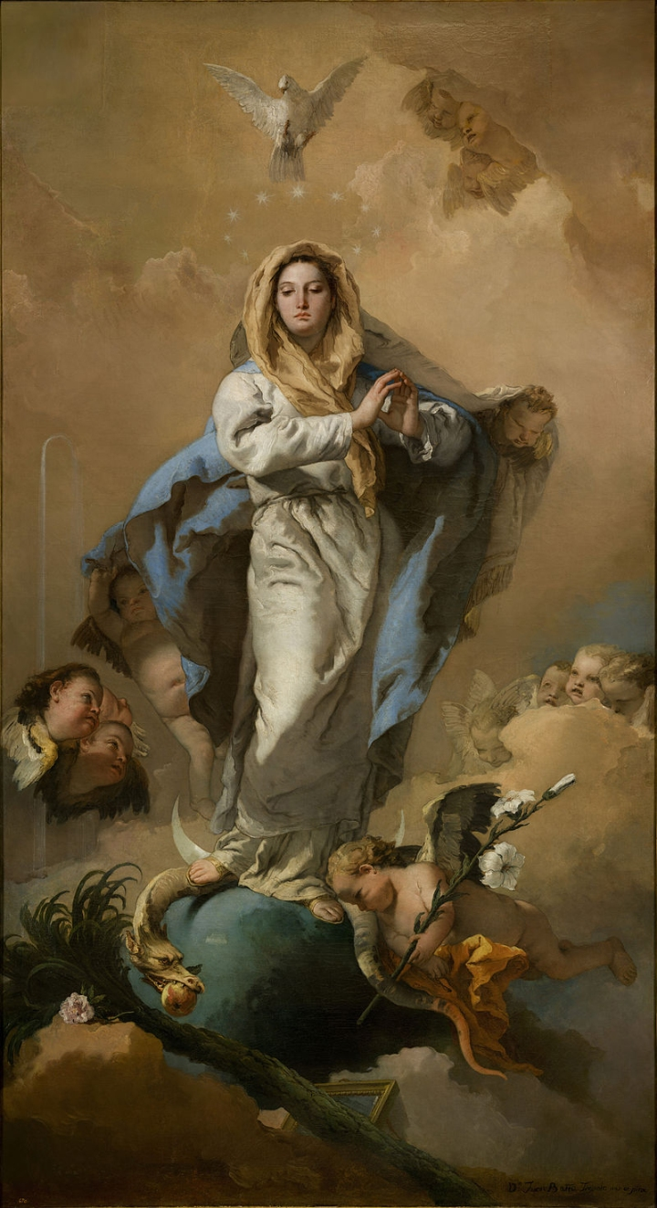 TIEPOLO IMMACULATE CONCEPTION