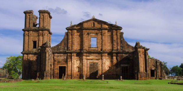 Façade of São Miguel das Missões.
