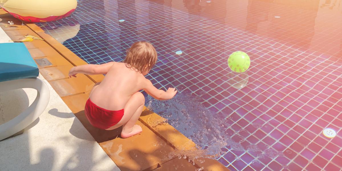 child swimming pool