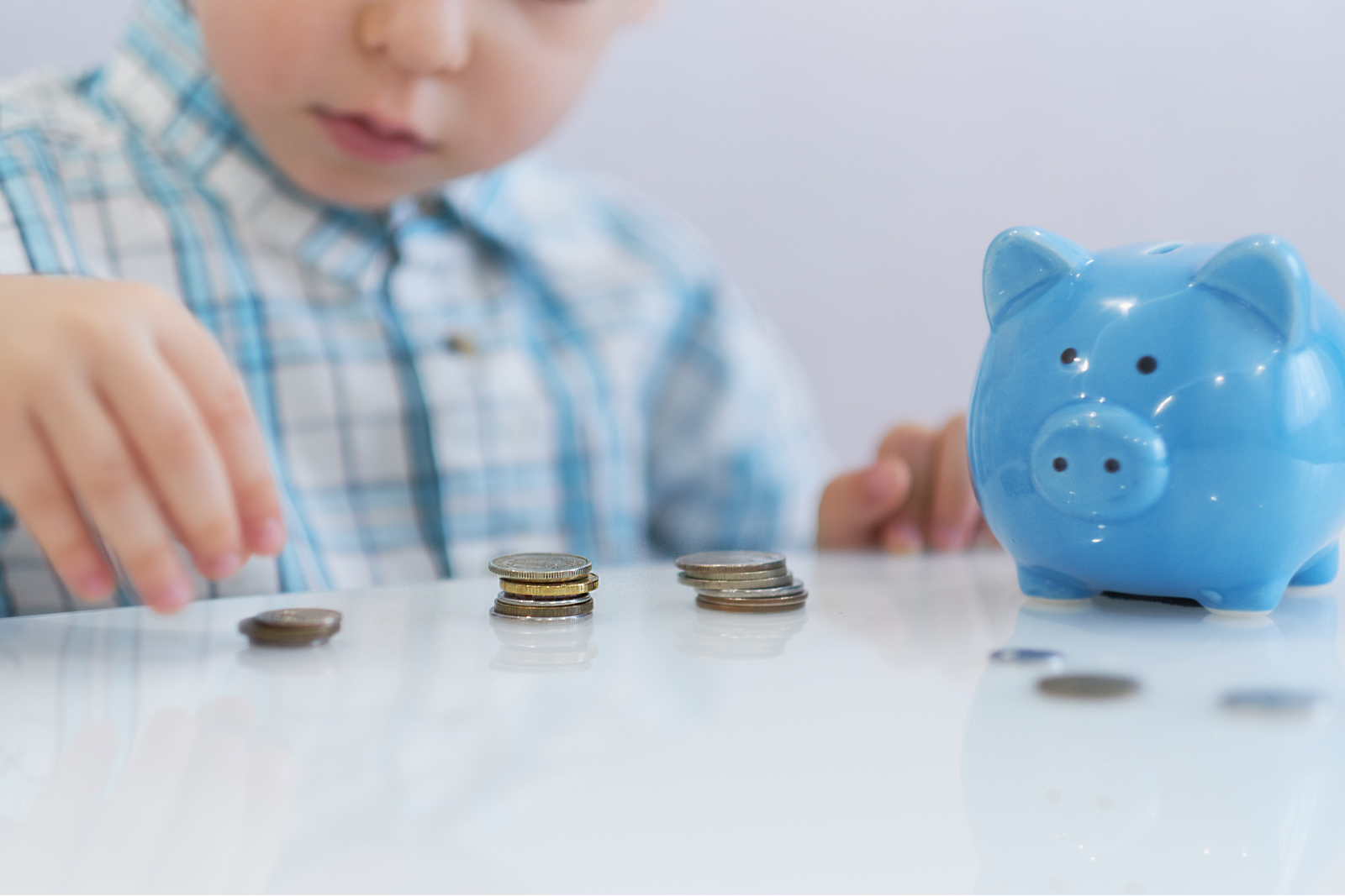 child money piggy bank