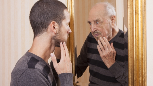 YOUNG, OLD, MIRROR