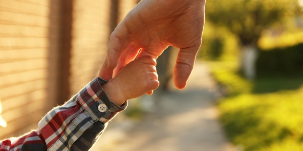 CHILD, FATHER, HAND