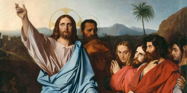 JESUS RETURNING THE KEYS