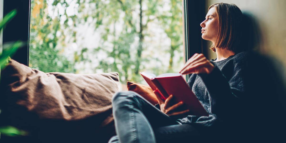 GIRL, READ, WINDOW