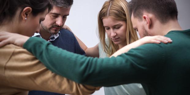 GROUP PRAYER HANDS