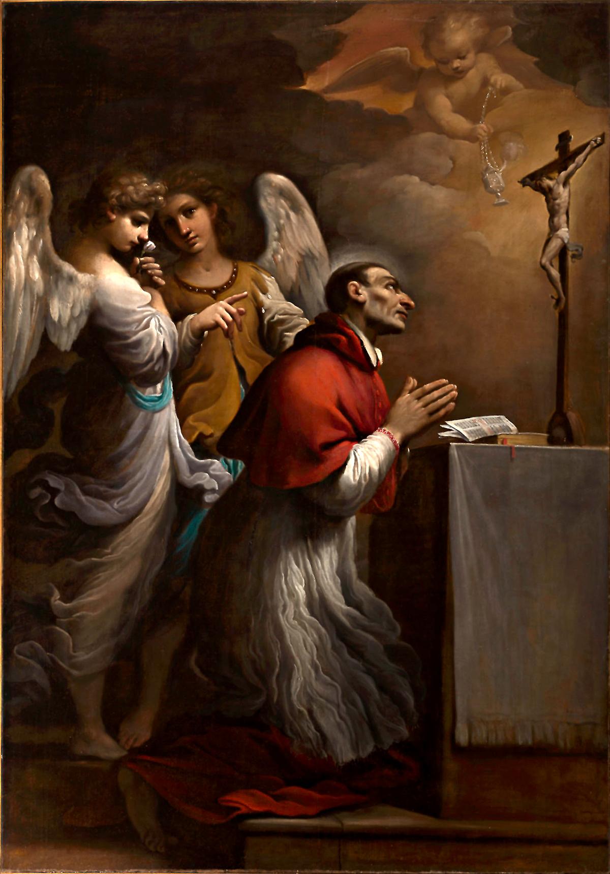 San Carlo Borromeo in preghiera