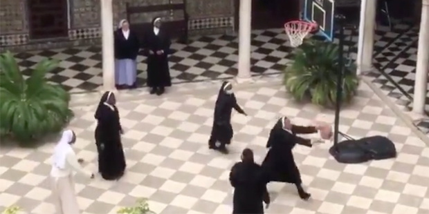 BASKETBALL NUNS