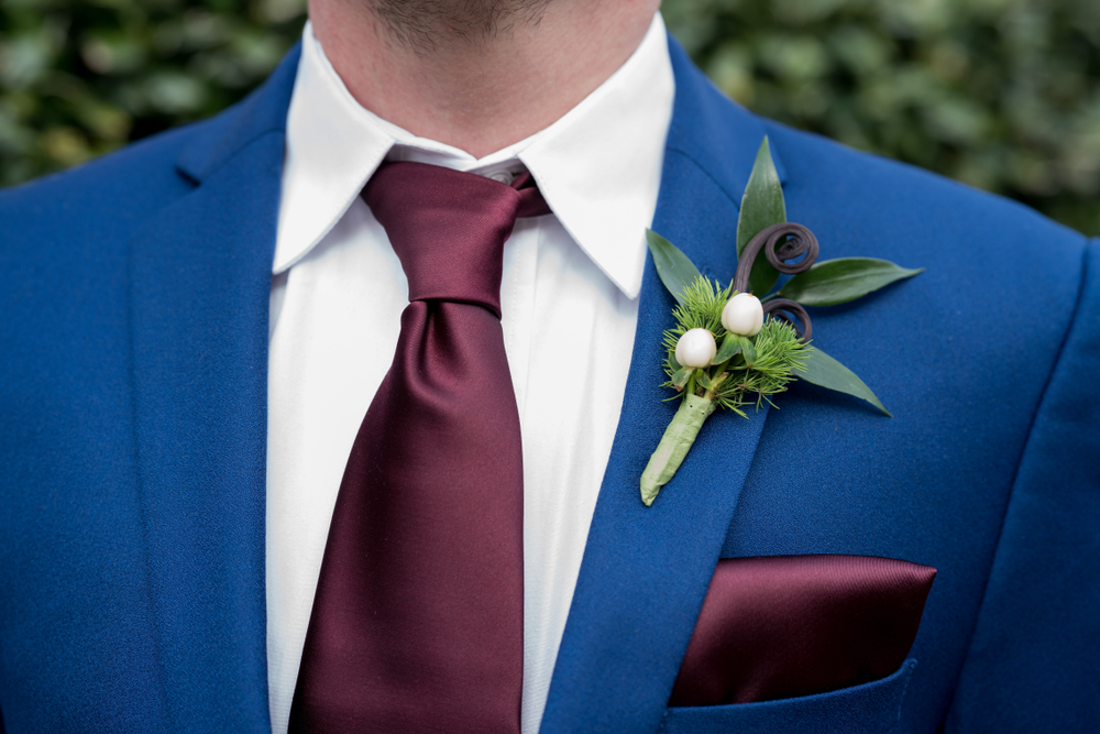 GROOM WEDDING TIE