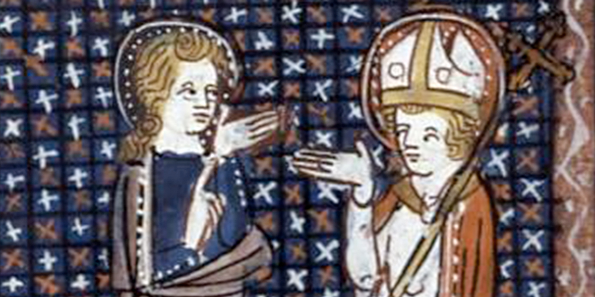 SAINT BRICE AND Saint Martin OF TOURS