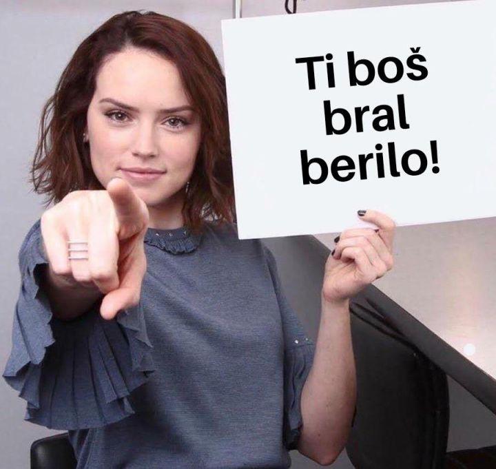 Šaljivi memi o branju beril