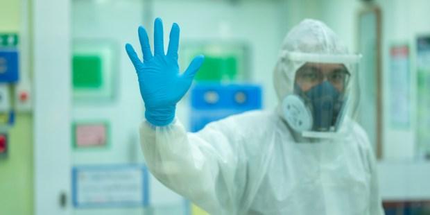 DOCTOR AT HOSPITAL CORONAVIRUS