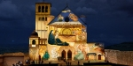 SAINT ASSISI BASILICA LIGHTS